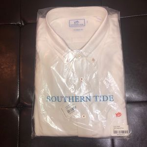 Southern Tide White Button Down Mens XL